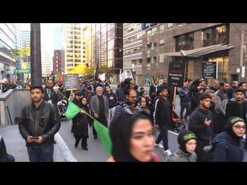 Alamdar Moosvi - Arbaeen Walk Toronto Oct  20, 2019 - Urdu