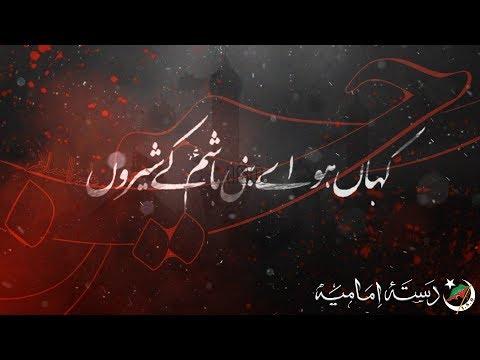 [Nauha 2019] Kahan Ho Ay Bani Hashim | Dasta-e-Imamia | Ahmed Nasiri | Muharram 1441 - Urdu