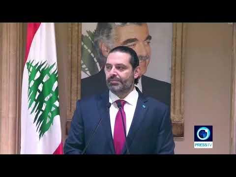 [29/10/19] Lebanon s PM Hariri says he submits resignation to president - English