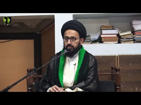 [Majlis] Topic: Quran o Ahlebait (as) Ke Nigah May Dosti Kay Usool   H.I Sadiq Raza Taqvi - Urdu