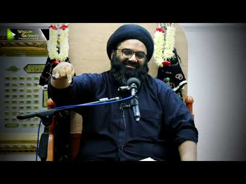 [Clip] Sab Say Bari Naimat   H.I Syed Kazim Abbas Naqvi - Urdu