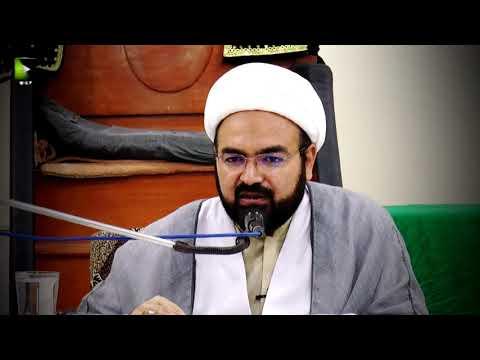 [Clip] Imam Mehdi (aj) Fitnoo or Bidatoon Ka Khatma Kis Tarah Say Karain Gay?   H.I Ali Asghar Saifi - Urdu