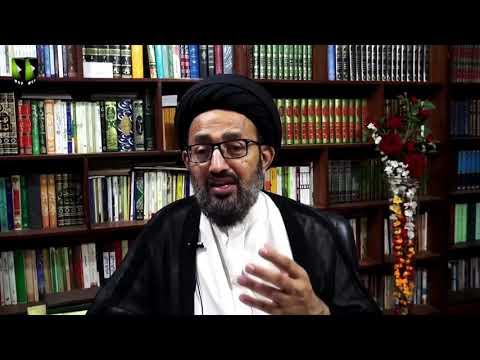 Surah Jumma - Part 1   Tafsir-e-Quran Baraey Nojawan   H.I Sadiq Raza Taqvi - Urdu