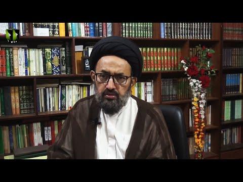 [Dars] Surah Jumma - Part 2   Tafsir-e-Quran Baraey Nojawan   H.I Sadiq Raza Taqvi - Urdu