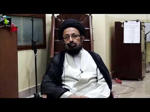 [Majlis] Barsi Shaheed Quaid Allama Arif Hussaini   H.I Sadiq Raza Taqvi   05 Aug 2020 - Urdu