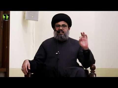 [Majlis -e- Aza]  Shahadat Imam Zain ul Abideen (as) | H.I Ahmed Iqbal Rizvi | 21st Muharram 1442 | Urdu