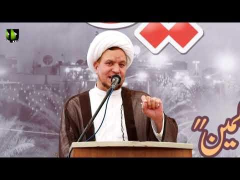 [Youm-e-Hussain as] Speech: Moulana Ayjaz Bahistte | Karachi University | Safar 1442/2020 | Urdu