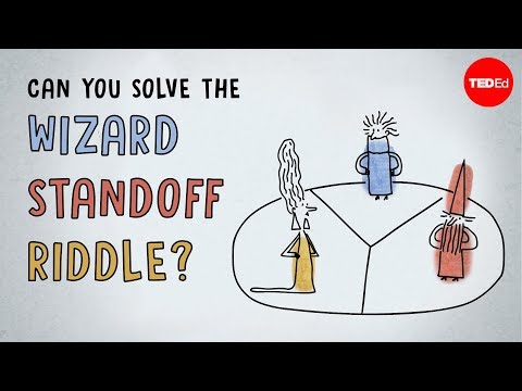 Can you solve the wizard standoff riddle? - Dan Finkel - English