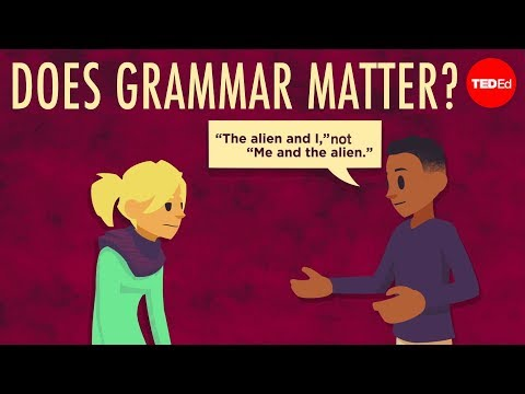 Does grammar matter? - Andreea S. Calude - English