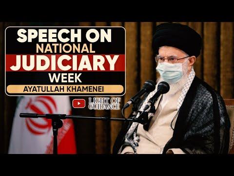 Ayatollah Khamenei Speech at Judiciary Week and martyrdom anniversary of Martyr Beheshti - Farsi subs Eng