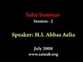 Salaat Seminar in Seattle - Part 05 (abbasayleya.org) English