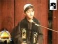 [Majlis e Aza] Importance of Ziyarat and Khak e Shifa - Youngest zakir - Urdu And English-Abba Vakil