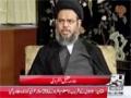 [Hussain Sab Ka]The exclusive interview of Maulana Aqeel ul Gharavi - Urdu